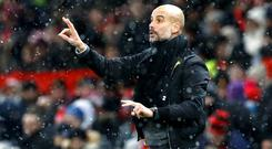 Pep Guardiola's Manchester City have a Premier League record in their sights
