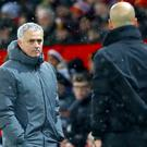 Jose Mourinho was involved a post-match fracas after Pep Guardiola's City won the derby