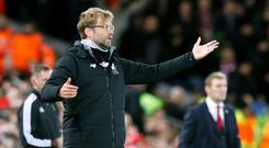 Liverpool manager Jurgen Klopp insists he cannot tone down his emotional responses