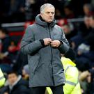 Jose Mourinho was involved in a post-match fracas after the derby with Manchester City