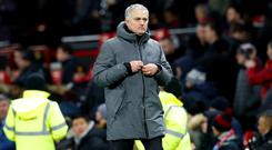 Jose Mourinho was allegedly involved in a post-match fracas after the derby with Manchester City