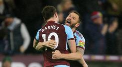 Burnley moved up to fourth place in the Premier League after what was a fifth home win out of nine Premier League matches