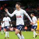 Son Heung-Min was in the goals again