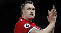 Phil Jones believes Manchester United showed fight and courage to get back on track after their derby defeat