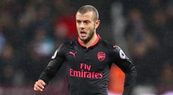 Jack Wilshere started his first Premier League game for Arsenal since May 2016