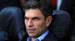 Mauricio Pellegrino, pictured, acknowledged keeping Eden Hazard quiet will be a difficult task
