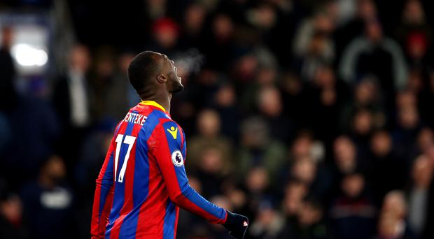 Christian Benteke missed a penalty against Bournemouth