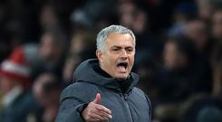 Jose Mourinho is thinking about the January sales