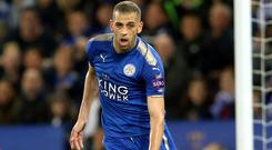Islam Slimani joined Leicester from Sporting Lisbon last year