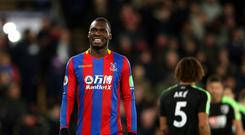 Crystal Palace striker Christian Benteke has yet to get off the mark this season