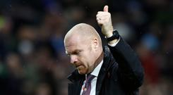 Sean Dyche's Burnley are riding high in the table