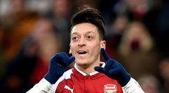 Mesut Ozil fired Arsenal to victory over Newcastle