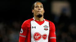 Virgil van Dijk's Southampton future was again called into question after being benched for the defeat at Chelsea