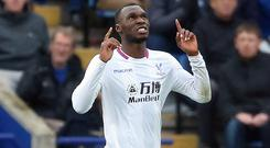 Christian Benteke scored for the first time since May