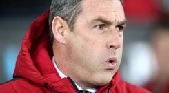 Swansea boss Paul Clement, pictured, was asked to join Sam Allardyce's England coaching staff
