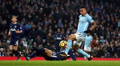 Gabriel Jesus has urged Manchester City to maintain the momentum