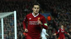 Philippe Coutinho, pictured, was backed by Alex Oxlade-Chamberlain after the win at Bournemouth