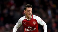 Mesut Ozil is enjoying a good run of form