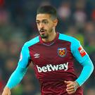West Ham's Manuel Lanzini has been charged