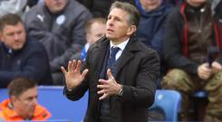 Leicester boss Claude Puel lost last season's League Cup final to Manchester United while Southampton manager