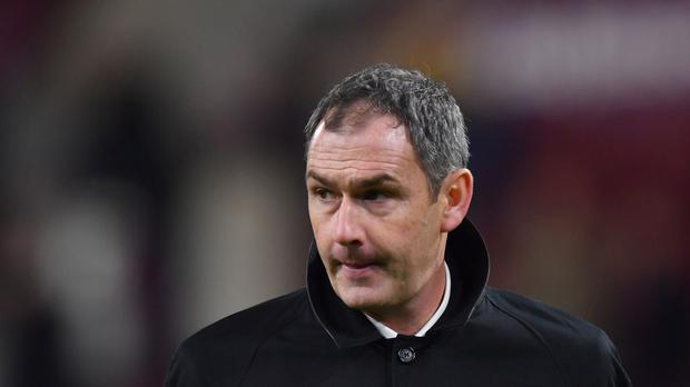Paul Clement has left Swansea with the club rooted to the bottom of the table