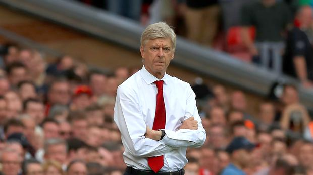 Arsene Wenger saw his Arsenal side thrashed 4-0 at Liverpool earlier this season