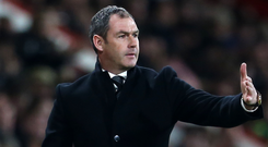 Ex-Swansea boss Paul Clement. Photo: PA