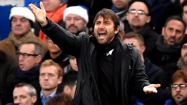 Chelsea head coach Antonio Conte has told his players to keep a close eye on England's record goalscorer