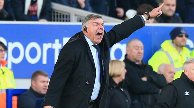 Sam Allardyce's Everton held champions Chelsea at Goodison Park