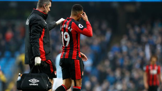 Bournemouth's Junior Stanislas is the latest player to join a busy treatment room