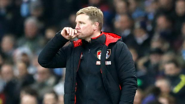 Bournemouth manager Eddie Howe is looking to avoid an eighth match without a win when West Ham visit on Boxing Day