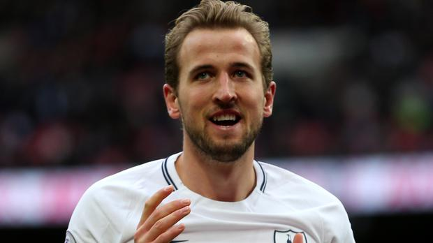 Harry Kane, left, has won the Premier League golden boot for the past two seasons