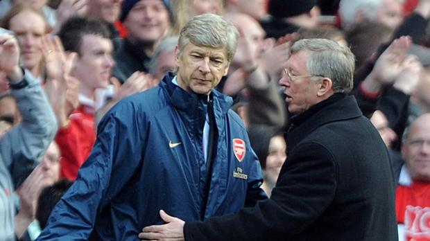 Arsene Wenger, pictured left, is about to match Sir Alex Ferguson for longevity