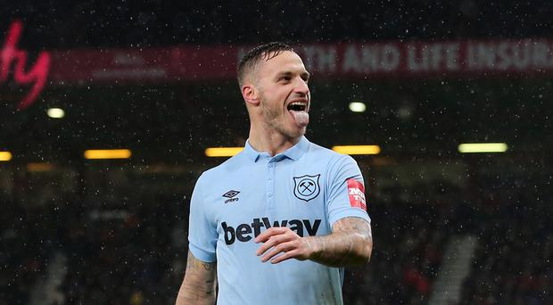Two-goal hero Arnautovic says West Ham 'unlucky' to draw with Bournemouth