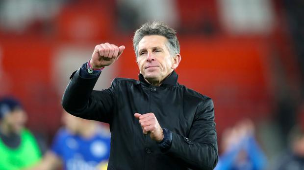 Leicester boss Claude Puel, pictured, managed Virgil van Dijk at Southampton last season