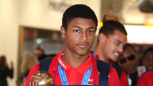 England's Rhian Brewster has been the subject of vile racist abuse in the past year