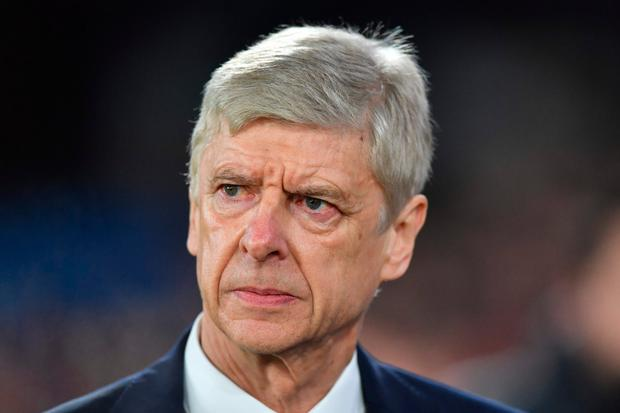 Wenger, known as 'The Professor' Photo: Getty