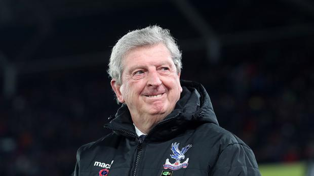 Crystal Palace manager Roy Hodgson hopes to end Manchester City's winning run in the Premier League