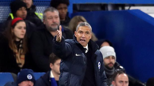 Chris Hughton says Brighton's January business will be 'minimal'