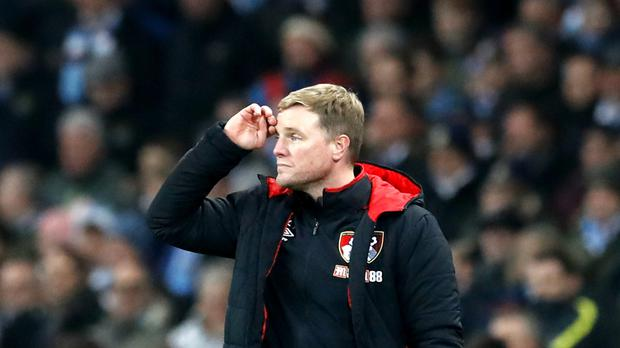 Eddie Howe's Bournemouth have not won in their last eight Premier League games