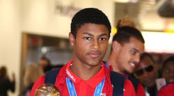 Rhian Brewster raised accusations of alleged racist abuse