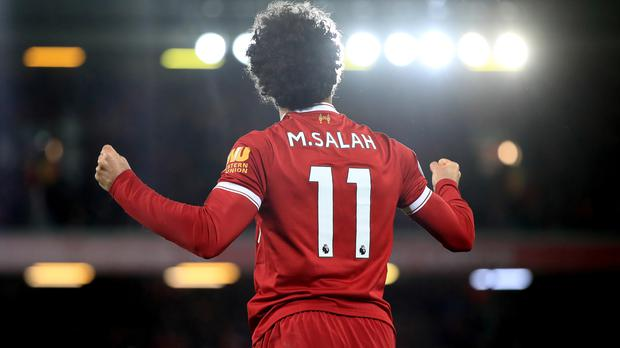 Liverpool's Mohamed Salah delivered once again