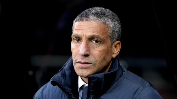 Brighton manager Chris Hughton is not taking Premier League survival for granted