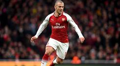 Arsenal's Jack Wilshere is pushing for an England place