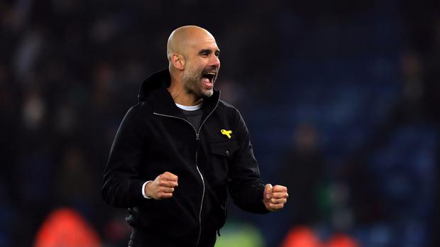 Manchester City manager Pep Guardiola claims he is worried about the impact of four competitions on his squad