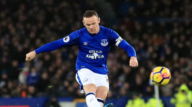 Wayne Rooney had a quiet game against former club Manchester United