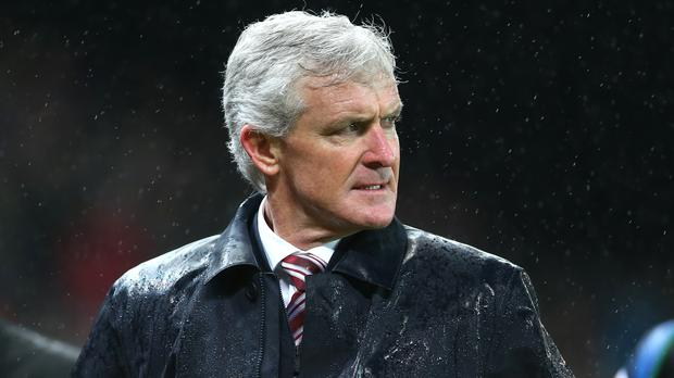 Mark Hughes saw his Stoke side beaten again