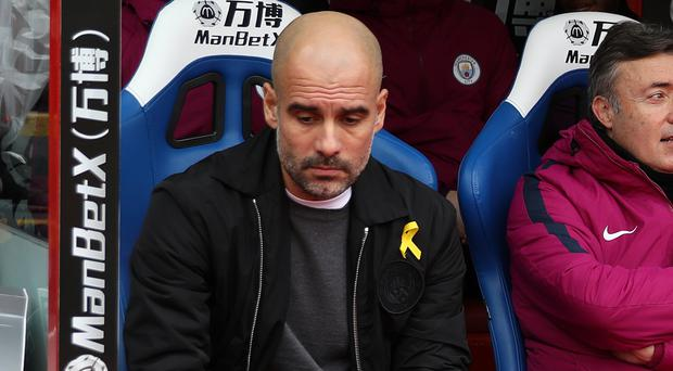 Manchester City manager Pep Guardiola says the festive programme is tough