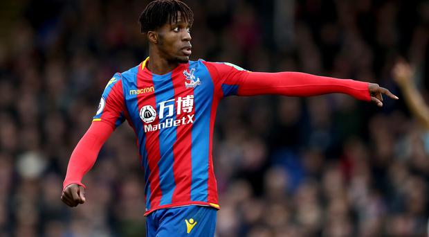 Wilfried Zaha has been criticised by some for going down too easily under pressure