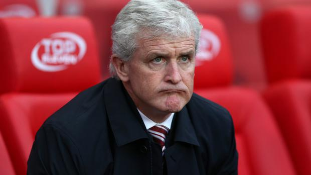 Mark Hughes is under pressure